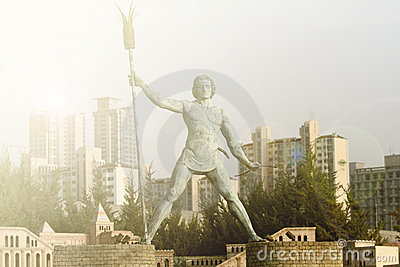 Classical roman statue