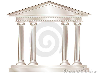 Classical temple