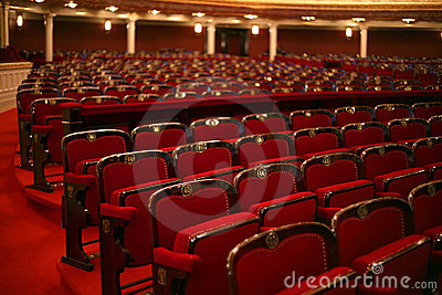 Classical theatre interior