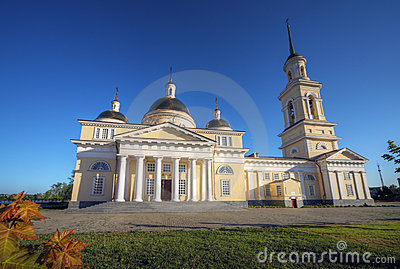 Classicism style cathedral, Russia