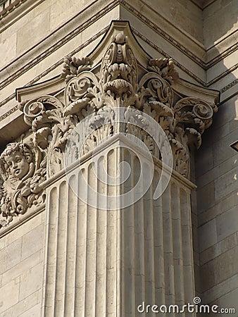 Classicist column head, St. Stephen s Basilica