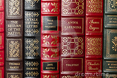 Classics of literature Editorial Stock Photo