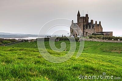 Classiebawn Castle on Mullaghmore Head
