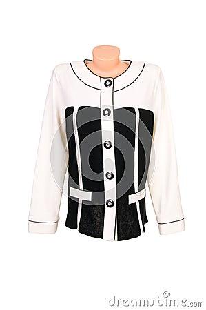 Classy,stylish blouse on a white.