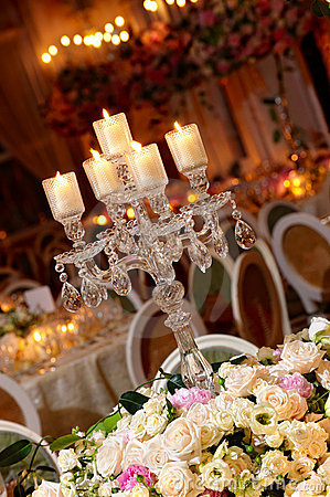 Free Classy Wedding Table Setting Royalty Free Stock Photo - 14636995