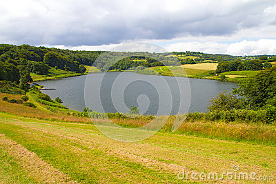 Clatworthy Reservoir in Somerset