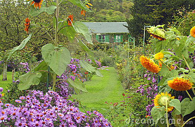Claude Monet s home in Giverny, France