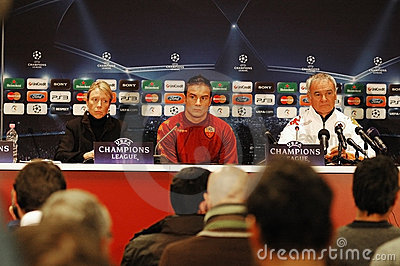 Claudio Ranieri, coach of AS Roma Editorial Photo