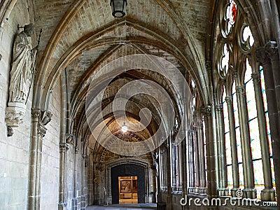 Claustro alto, Catedral de Burgos ( Spain )