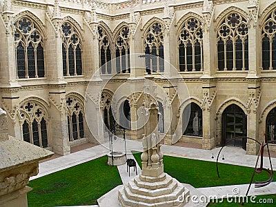 Claustro de la catedral, Burgos ( Spain )