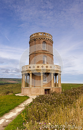 Free Clavell Tower On The Dorset Coastline Stock Photo - 46785400