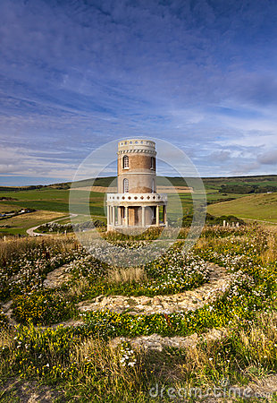 Free Clavell Tower On The Dorset Coastline Royalty Free Stock Photos - 46785468