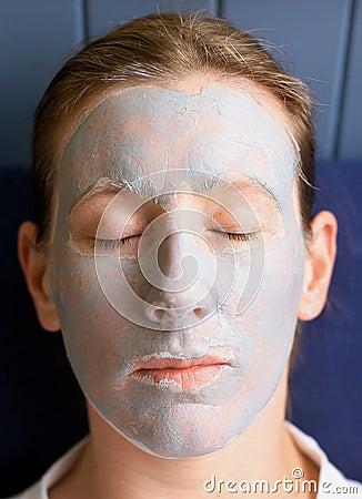 Free Clay Face Mask Stock Photos - 591553