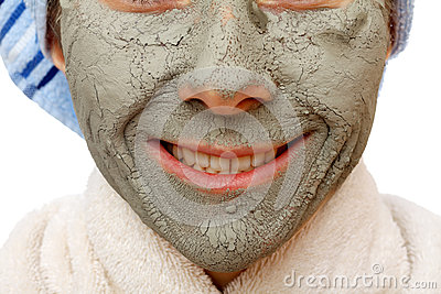 The clay face mask effects