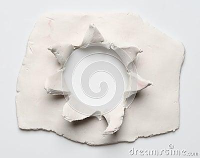 Clay hole