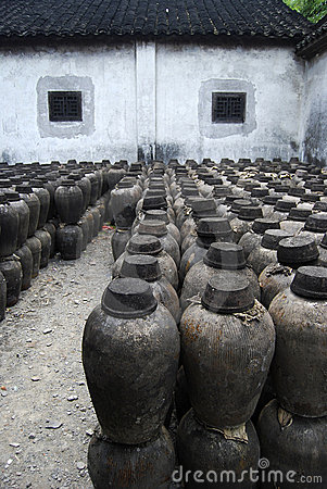 CLAY JARS IN CHINA