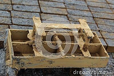 Clay mold