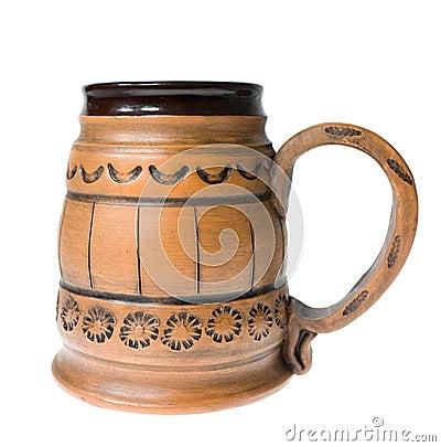 Clay mug