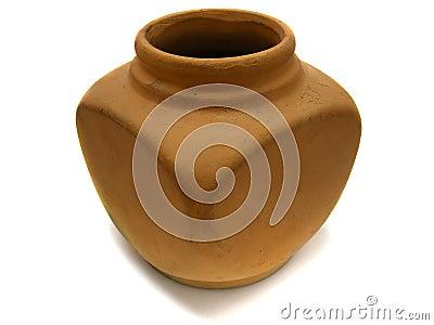 Clay old vase