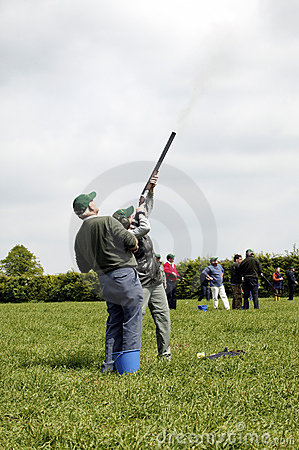 Free Clay Pigeon Shooting Stock Image - 1751001