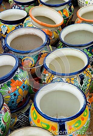 Free Clay Pots Stock Image - 1160631