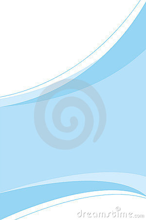 Free Clean Blue Template Royalty Free Stock Photos - 8145848