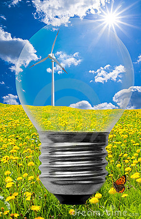 Free Clean Energy Background Royalty Free Stock Photos - 14393938