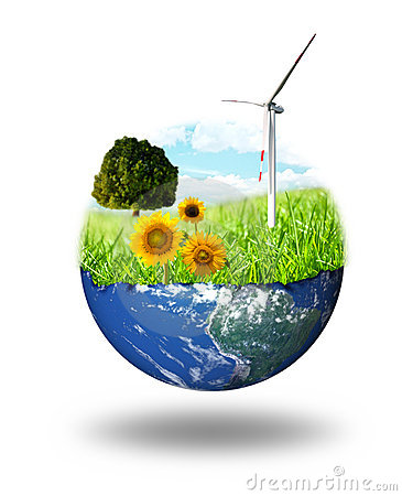 Free Clean Energy Concept Royalty Free Stock Images - 10392469