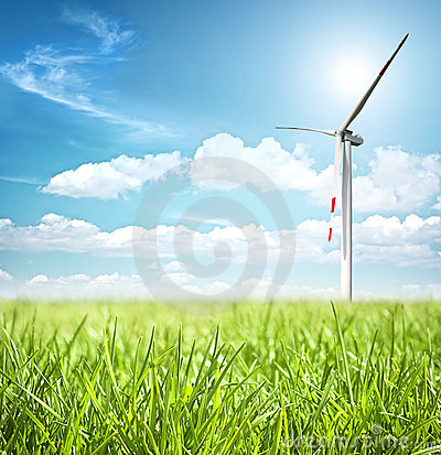 Free Clean Energy Concept Royalty Free Stock Images - 6141859