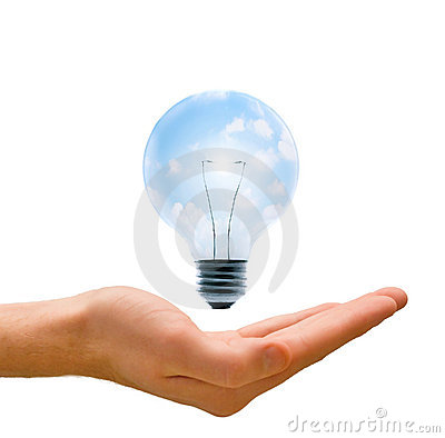 Free Clean Energy In Our Hands Royalty Free Stock Photo - 5354255