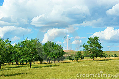 Clean energy, wind power