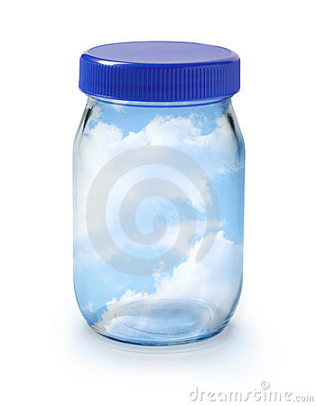 Free Clean Fresh Air Sky Jar Stock Images - 10494164
