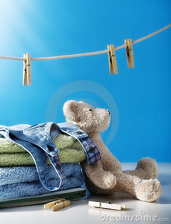 Free Clean Laundry Royalty Free Stock Photos - 10649058