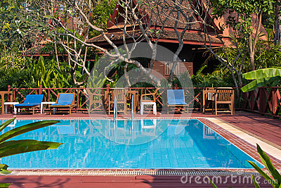 Clean and nice swimming pool