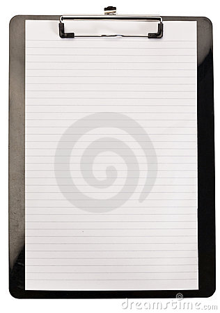 Clean note pad