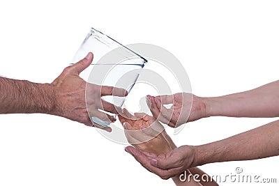 Clean potable water