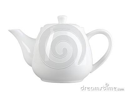 White tea-pot