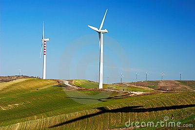 Clean wind generators