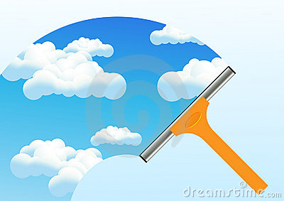 Clean Window Royalty Free Stock Photo - Image: 15230315