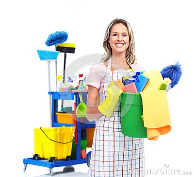 Free Cleaner Maid Woman. Stock Images - 32541804