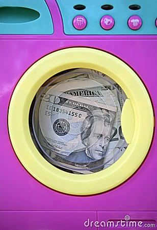Free Cleaning Black Money Dollar Metaphor Stock Image - 8982401