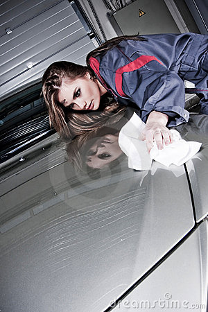 Free Cleaning Car Stock Photo - 7864480