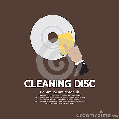 Cleaning Disc Graphic