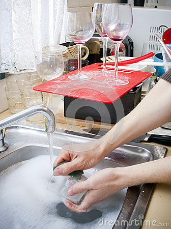 Cleaning Dishes