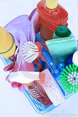 Free Cleaning Kit Stock Image - 2211271