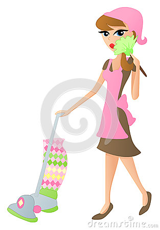 Free Cleaning Lady Stock Photo - 32272550