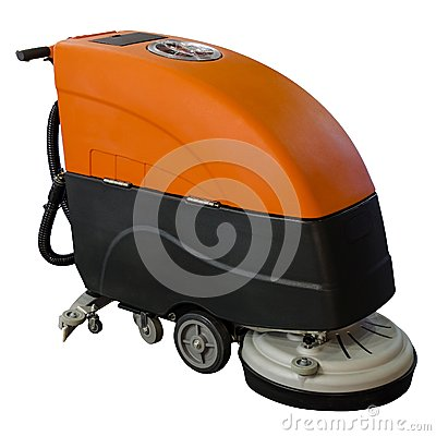 Free Cleaning Machine Royalty Free Stock Image - 39084186