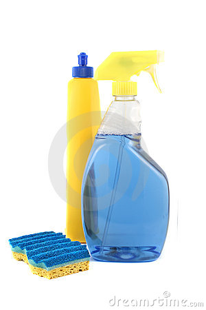 Cleaning Products Royalty Free Stock Images - Image: 10263009
