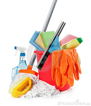 Free Cleaning Products Royalty Free Stock Images - 18865979