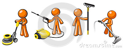 Cleaning Services Team of Janitorial Professionals